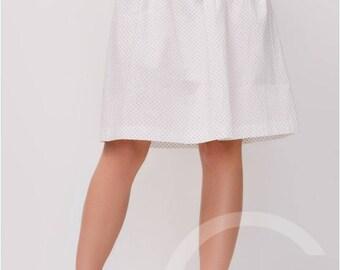 Mini skirt Party skirts Womens white skirt Summer skirt Cotton skirt Short Skirts beach Skirt women skirt Summer White Skirts