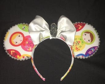 Russian Inspired Mouse Ears