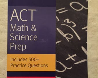 NEW Kaplan ACT Math & Science Test Prep book