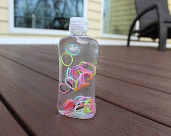Calm Down Bottle of Colors, sensory, relaxing, stress relief, fundraiser