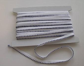 Royal Blue Whip stitch Piping Trim - 1 Yard
