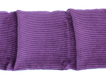 Wheat Heat Pack/Bag-3 Sectioned Purple