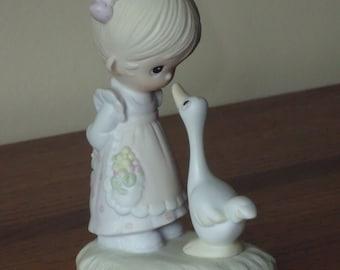 "Precious Moments Figurines 1978 ""Make a Foyful Noise"""