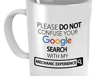 Mechanic Coffee Mug, Mechanic Experience, Mechanic Mug, Mechanic Gifts, Gift for Mechanic, Birthday Gift