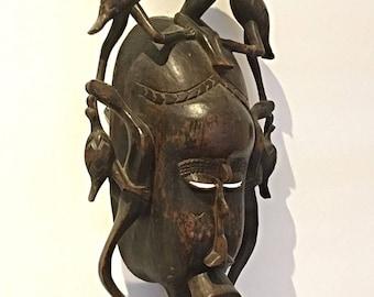 AFRICANTIC SENUFO African art Ivory Coast mask