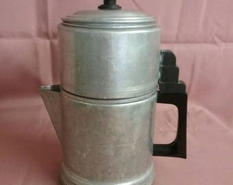 Vintage 6-cup stovetop coffee pot