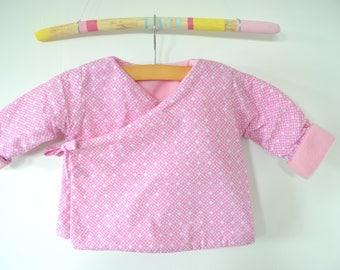 Kimono jacket baby girl 6 months