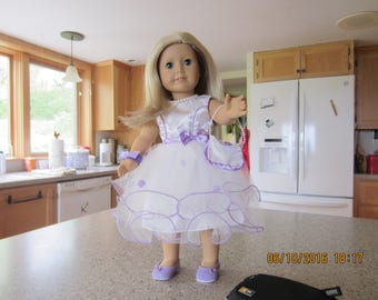 "18"" American Girl Doll all dressed up for Prom"