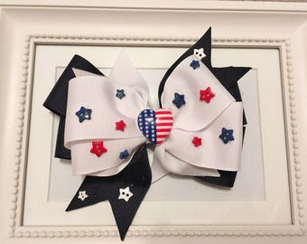 American Stars Layered Bow