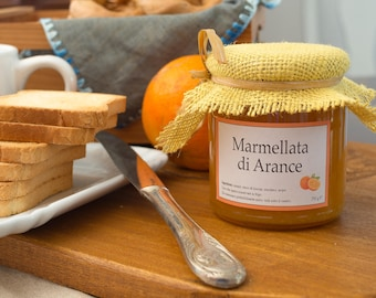Handmade Extra Jam with organic Oranges