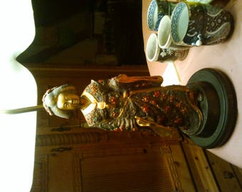 Night table lamp rare Asian style