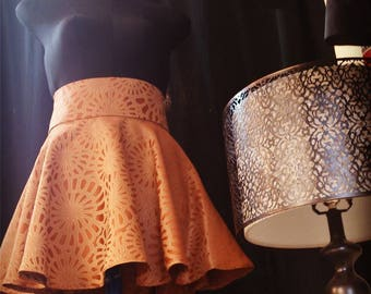 Bronze circular shape skirt