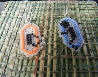 Portal Handmade Cross Stitch Earrings