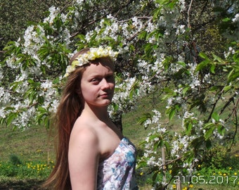 Silk flower crown Wedding flower wreath Flower crown Rose crown White crown White rose wreath Flower crown Flower wedding crown