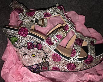 Bling Wedges With Polka Dots, Butterflies and More