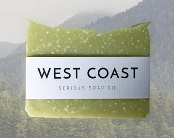 West Coast - 100% all natural soap