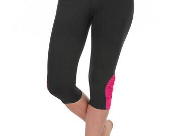 Verscos Women's Stretch Capris Cropped Tight Leggings 5004