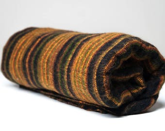 Yak wool blanket/shawl BLACK