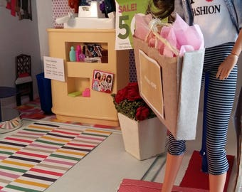 Ali's fashion boutique toy playroom design