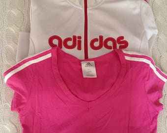 Adidas jacket and top