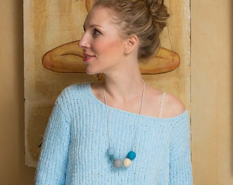 MUSTIKASbyAK necklace #turquoiseMUSTIKAS