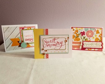 Rustic Greeting Card Set of 3