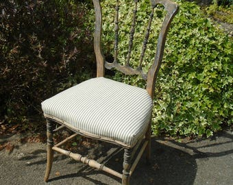 Antique Victorian chair/dressing table chair