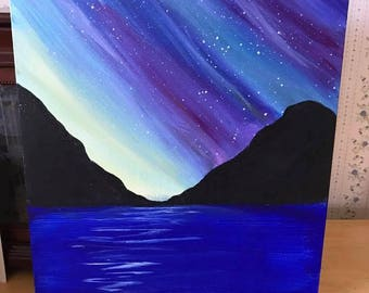 Northern Lights 11x14