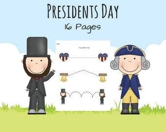 Presidents Day Theme Pack