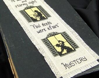 DARK & STORMY Mystery Bookmark