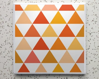 Summer Camp Citrus Tile Coaster