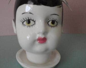 Eden doll head planter
