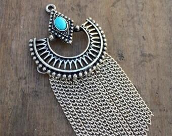 Silver Egyptian Fringe - DIY JEWELRY