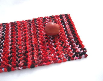 RED HOOK  rag weaving TaBLE RuG  Placemat