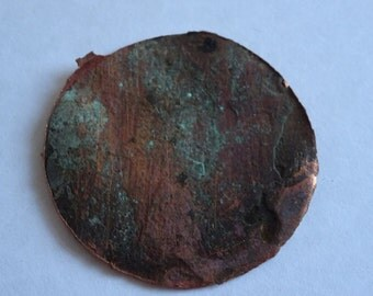 Piece of copper taken from the HMS Victory ship