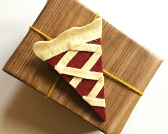 Mixed berry pie gift tag/ornament