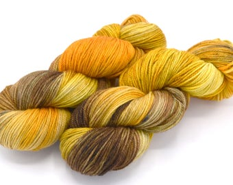 Hidden Tiger Variegated Hand Dyed Yarn - Made to order