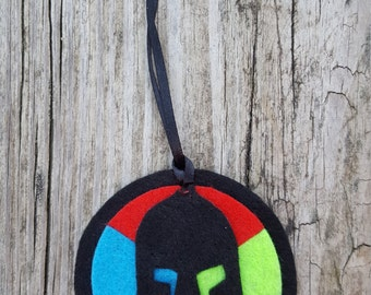 Spartan race Trifecta holiday ornament