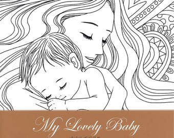My Lovely Baby for Pregnant Woman - Coloring Book