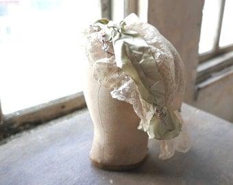 1910s 1920s Wedding Bridal Cap