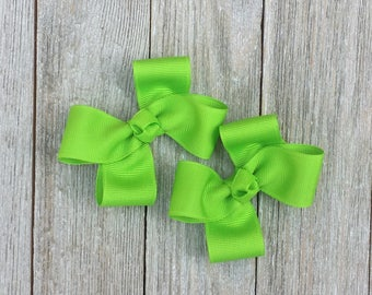 Lypple Hair Bows,Pigtail Hair Bows,Alligator Clips,3 Inches Wide,Birthday Party Favors