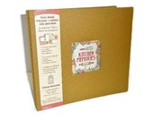 Kitchen Memories Scrapbook Album With 16 Pre-Designed Pages
