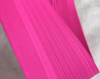 """1"""" Origami Star Paper~ Hot Pink (50 strips)"""