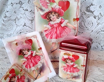 Valentine Gift Bag Set