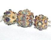 Lampwork  Art Beads by Jeanniesbeads #1809
