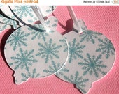 50% OFF - Snowy Sky - Holiday Gift Tags