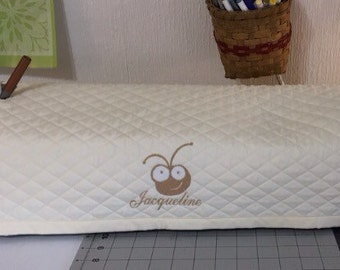 Costume and Personalized Cricut Dust Cover (quilted)