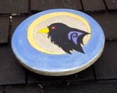 Clever Crow Toy Wooden Shield