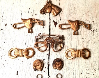 Vintage Equestrian Jewelry Supply