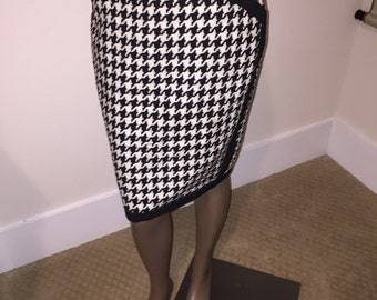 Vintage Spencer Tylar Lady's Checked Skirt